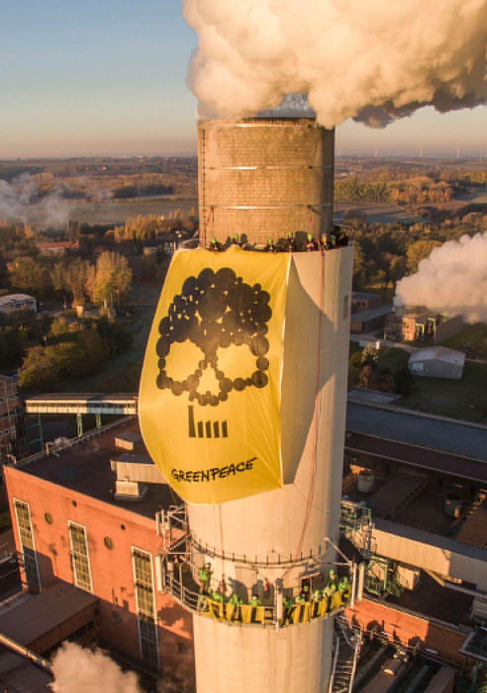 Greenpeace – Anti-coal campaign